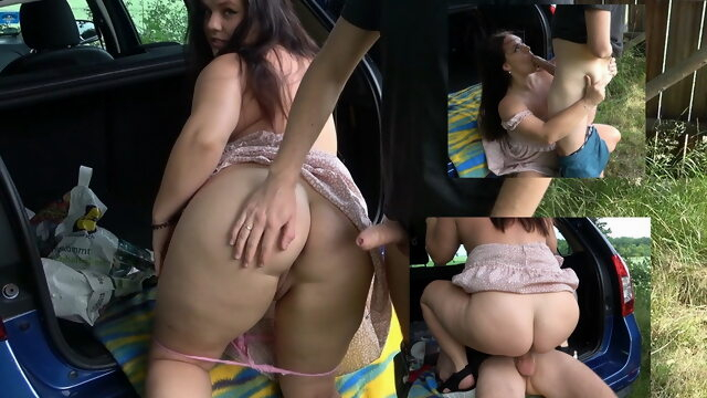 German amateur tests new car with hard fuck Xnxx amateur
