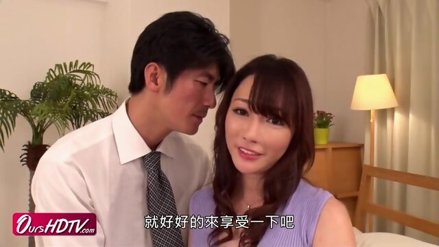 [OURSHDTV][中文字幕]Horny Japanese Busty MILF Creampied Uncensored Xnxx amateur