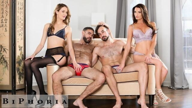 BiPhoria - 2 Bisexual Couples Have Wild Foursome Xnxx anal
